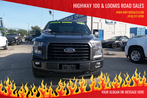 2017 Ford F-150 for sale at Highway 100 & Loomis Road Sales in Franklin WI