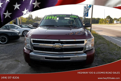 2009 Chevrolet Silverado 1500 for sale at Highway 100 & Loomis Road Sales in Franklin WI