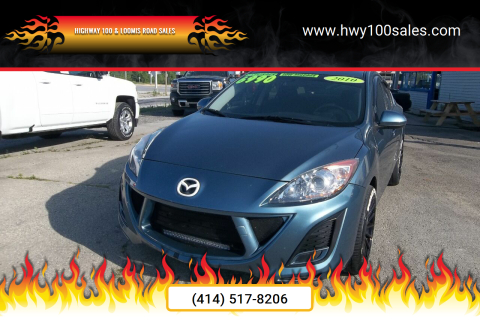 2010 Mazda MAZDA3 for sale at Highway 100 & Loomis Road Sales in Franklin WI