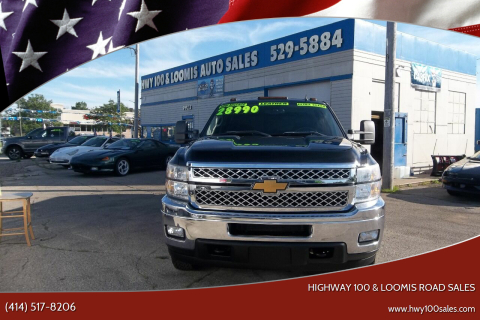 2011 Chevrolet Silverado 3500HD for sale at Highway 100 & Loomis Road Sales in Franklin WI