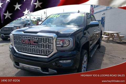 2018 GMC Sierra 1500 for sale at Highway 100 & Loomis Road Sales in Franklin WI