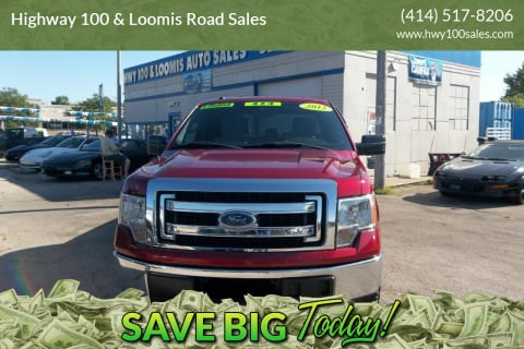2013 Ford F-150 for sale at Highway 100 & Loomis Road Sales in Franklin WI