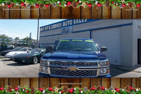 2014 Chevrolet Silverado 1500 for sale at Highway 100 & Loomis Road Sales in Franklin WI