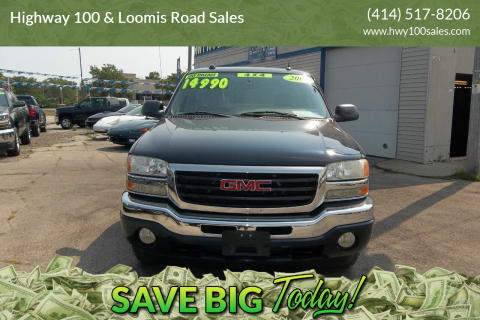 2005 GMC Sierra 1500 for sale at Highway 100 & Loomis Road Sales in Franklin WI