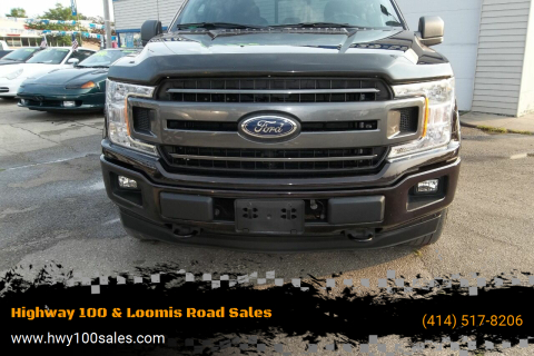2018 Ford F-150 for sale at Highway 100 & Loomis Road Sales in Franklin WI