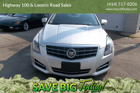 2014 Cadillac ATS for sale at Highway 100 & Loomis Road Sales in Franklin WI