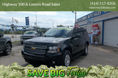 2014 Chevrolet Tahoe for sale at Highway 100 & Loomis Road Sales in Franklin WI