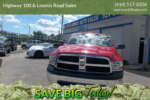 2011 RAM Ram Pickup 1500 for sale at Highway 100 & Loomis Road Sales in Franklin WI