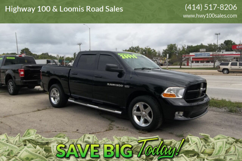 2012 RAM Ram Pickup 1500 for sale at Highway 100 & Loomis Road Sales in Franklin WI