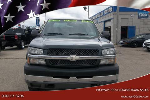 2004 Chevrolet Silverado 2500HD for sale at Highway 100 & Loomis Road Sales in Franklin WI