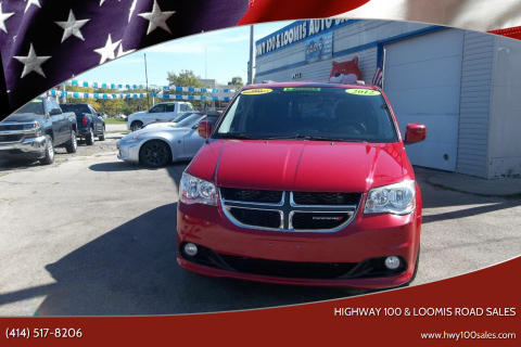 2012 Dodge Grand Caravan for sale at Highway 100 & Loomis Road Sales in Franklin WI
