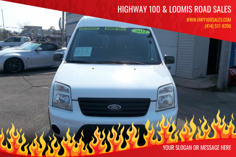 2012 Ford Transit Connect for sale at Highway 100 & Loomis Road Sales in Franklin WI