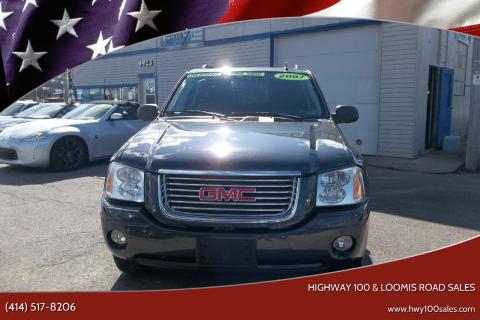 2007 GMC Envoy for sale at Highway 100 & Loomis Road Sales in Franklin WI