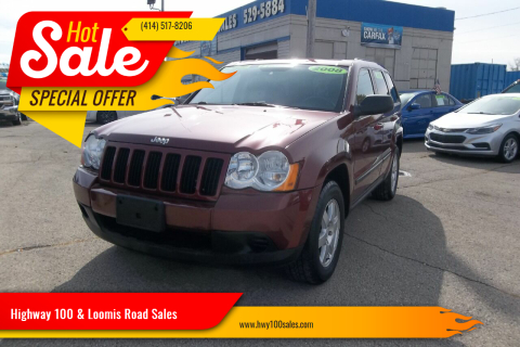 2008 Jeep Grand Cherokee for sale at Highway 100 & Loomis Road Sales in Franklin WI
