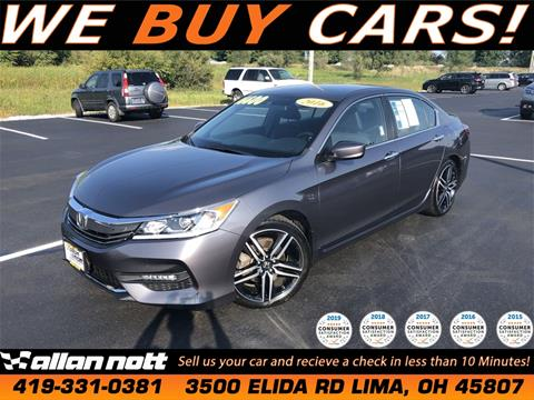 2016 Honda Accord for sale in Lima, OH