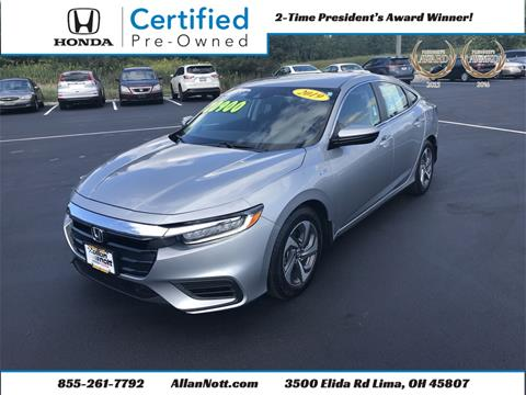 2019 Honda Insight for sale in Lima, OH