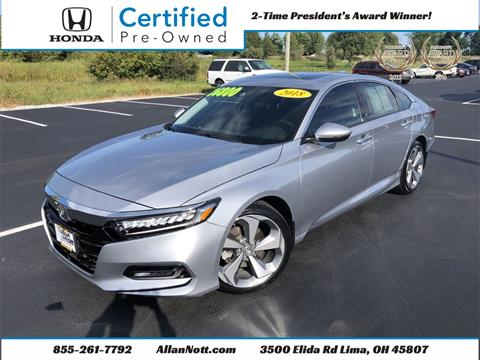 2018 Honda Accord for sale in Lima, OH