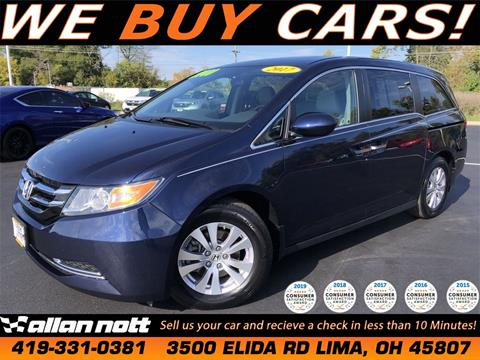 2017 Honda Odyssey for sale in Lima, OH