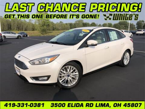 2016 Ford Focus for sale at White's Honda Toyota of Lima in Lima OH