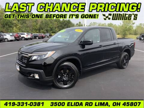 2019 Honda Ridgeline for sale at White's Honda Toyota of Lima in Lima OH