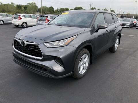 2020 Toyota Highlander for sale at White's Honda Toyota of Lima in Lima OH