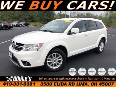 2014 Dodge Journey for sale at White's Honda Toyota of Lima in Lima OH