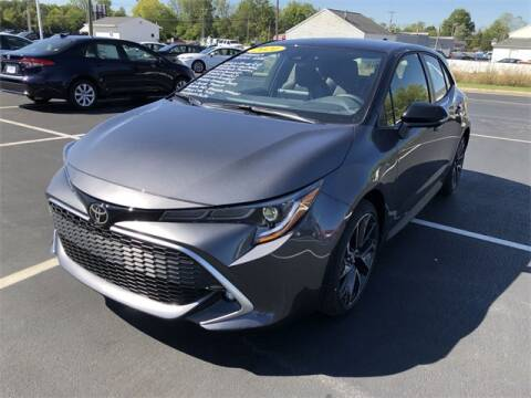 2021 Toyota Corolla Hatchback for sale at White's Honda Toyota of Lima in Lima OH