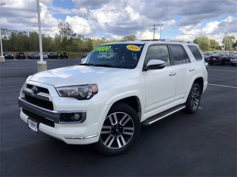 2018 Toyota 4Runner for sale at White's Honda Toyota of Lima in Lima OH
