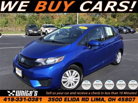 2016 Honda Fit for sale at White's Honda Toyota of Lima in Lima OH