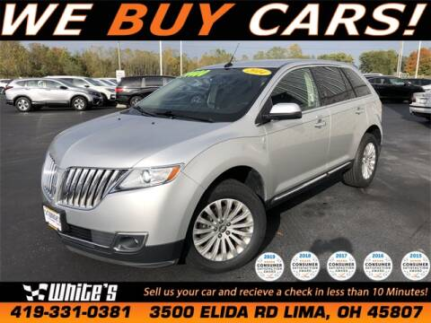 2014 Lincoln MKX for sale at White's Honda Toyota of Lima in Lima OH
