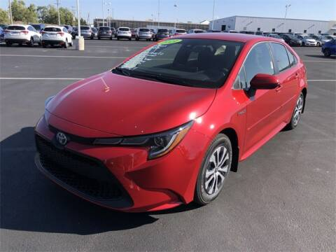 2021 Toyota Corolla Hybrid for sale at White's Honda Toyota of Lima in Lima OH