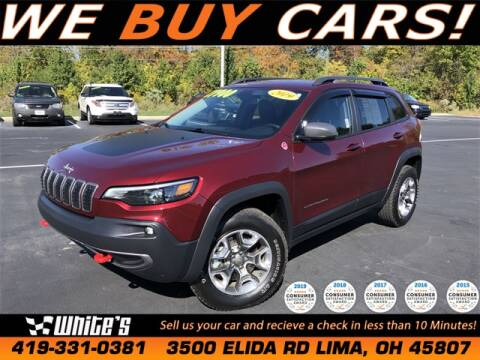 2019 Jeep Cherokee for sale at White's Honda Toyota of Lima in Lima OH