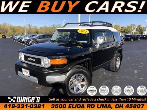 2014 Toyota FJ Cruiser for sale at White's Honda Toyota of Lima in Lima OH