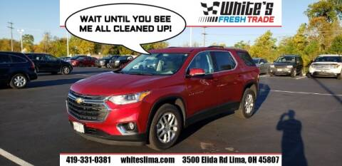 2018 Chevrolet Traverse for sale at White's Honda Toyota of Lima in Lima OH