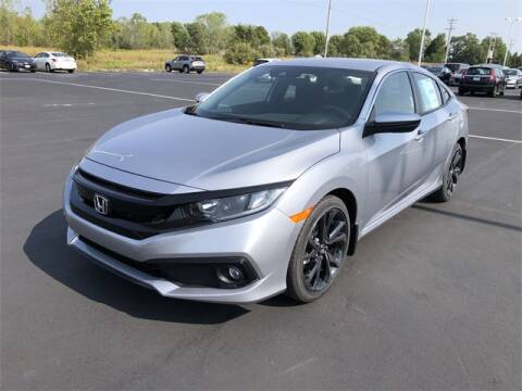 2020 Honda Civic for sale at White's Honda Toyota of Lima in Lima OH
