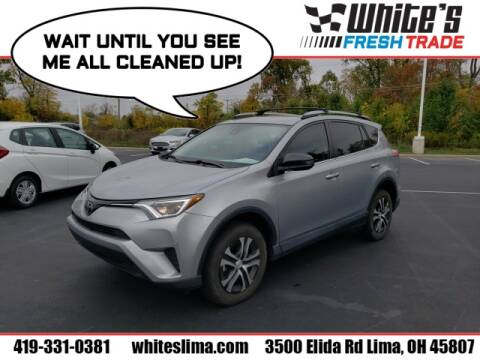 2018 Toyota RAV4 for sale at White's Honda Toyota of Lima in Lima OH
