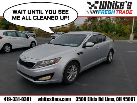 2013 Kia Optima for sale at White's Honda Toyota of Lima in Lima OH