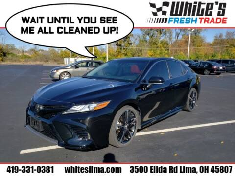 2018 Toyota Camry for sale at White's Honda Toyota of Lima in Lima OH