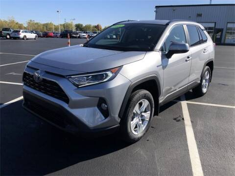 2021 Toyota RAV4 Hybrid for sale at White's Honda Toyota of Lima in Lima OH