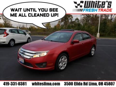 2011 Ford Fusion for sale at White's Honda Toyota of Lima in Lima OH