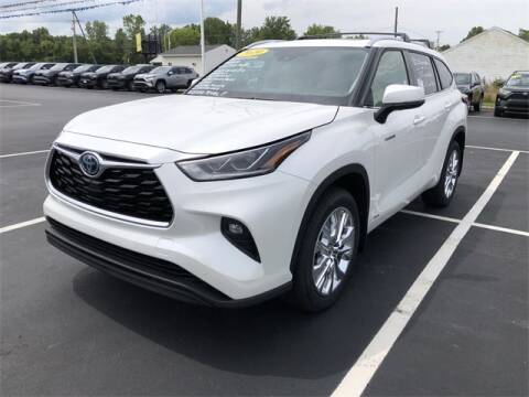 2020 Toyota Highlander Hybrid for sale at White's Honda Toyota of Lima in Lima OH