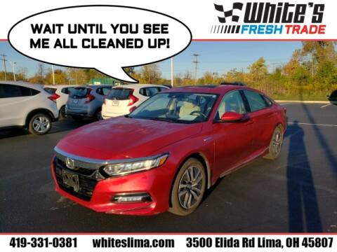 2019 Honda Accord Hybrid for sale at White's Honda Toyota of Lima in Lima OH