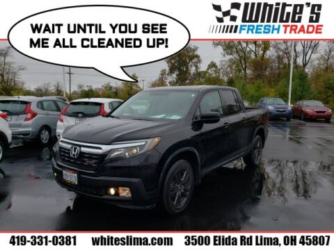 2017 Honda Ridgeline for sale at White's Honda Toyota of Lima in Lima OH