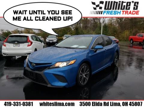 2019 Toyota Camry for sale at White's Honda Toyota of Lima in Lima OH