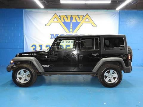 2011 Jeep Wrangler Unlimited for sale in Detroit, MI