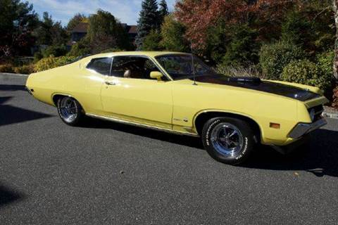 1970 Ford Torino Cobra Jet for sale at Fiore Motors, Inc.  dba Fiore Motor Classics in Old Bethpage NY