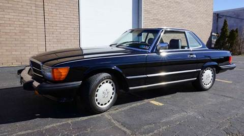 1986 Mercedes-Benz SL-Class for sale at Fiore Motors, Inc.  dba Fiore Motor Classics in Old Bethpage NY