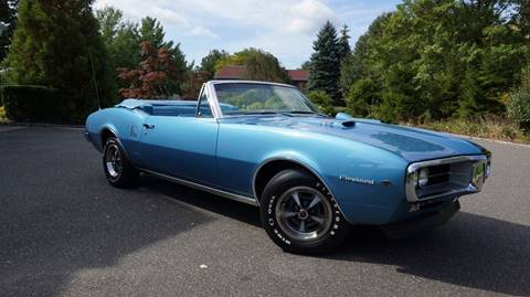 1967 Pontiac Firebird 400 Convertible for sale at Fiore Motors, Inc.  dba Fiore Motor Classics in Old Bethpage NY
