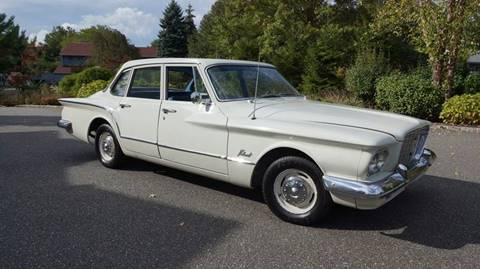 1960 Plymouth Valiant for sale at Fiore Motors, Inc.  dba Fiore Motor Classics in Old Bethpage NY