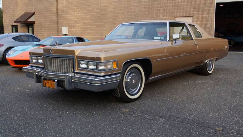 1975 Cadillac DeVille for sale at Fiore Motors, Inc.  dba Fiore Motor Classics in Old Bethpage NY
